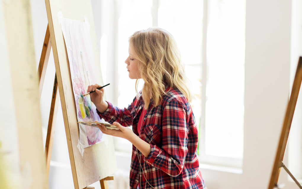 art therapy for teens